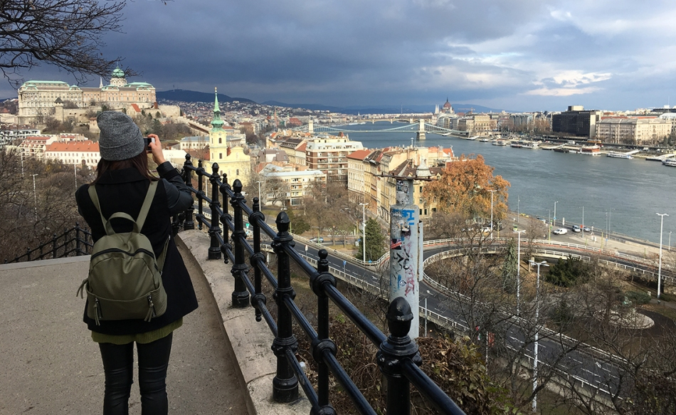 gellert hill budapest the goal getter