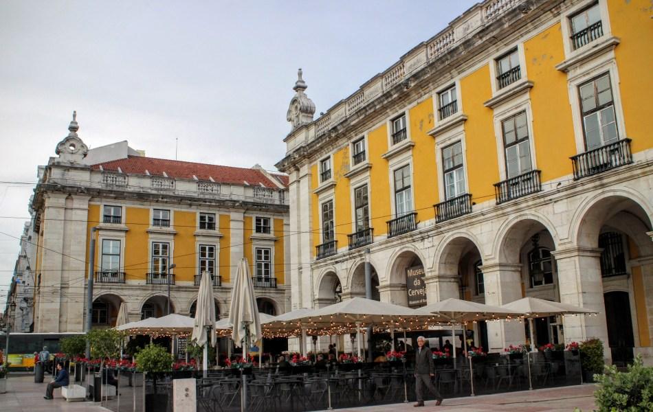 comercio square - lisbon - goal getter