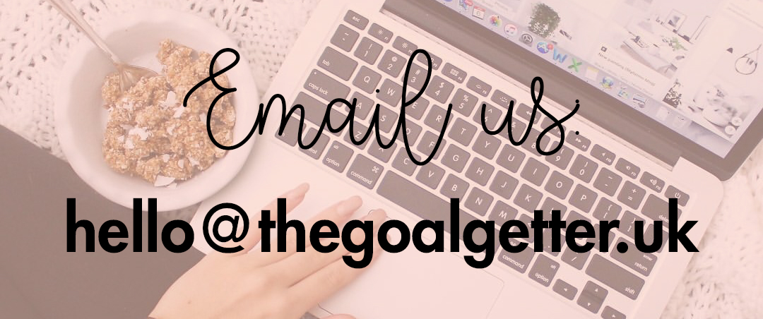 Want to get in contact? Email us at hello@thegoalgetter.uk