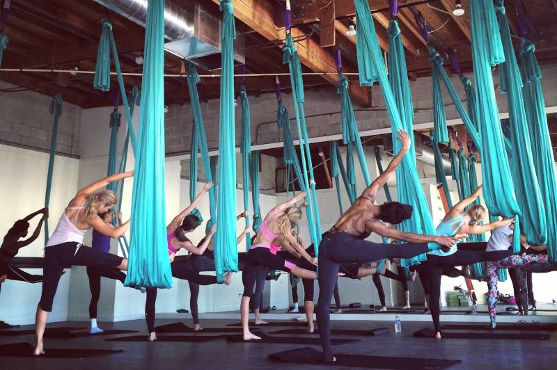 goal getter - aerial yoga - fitness trends