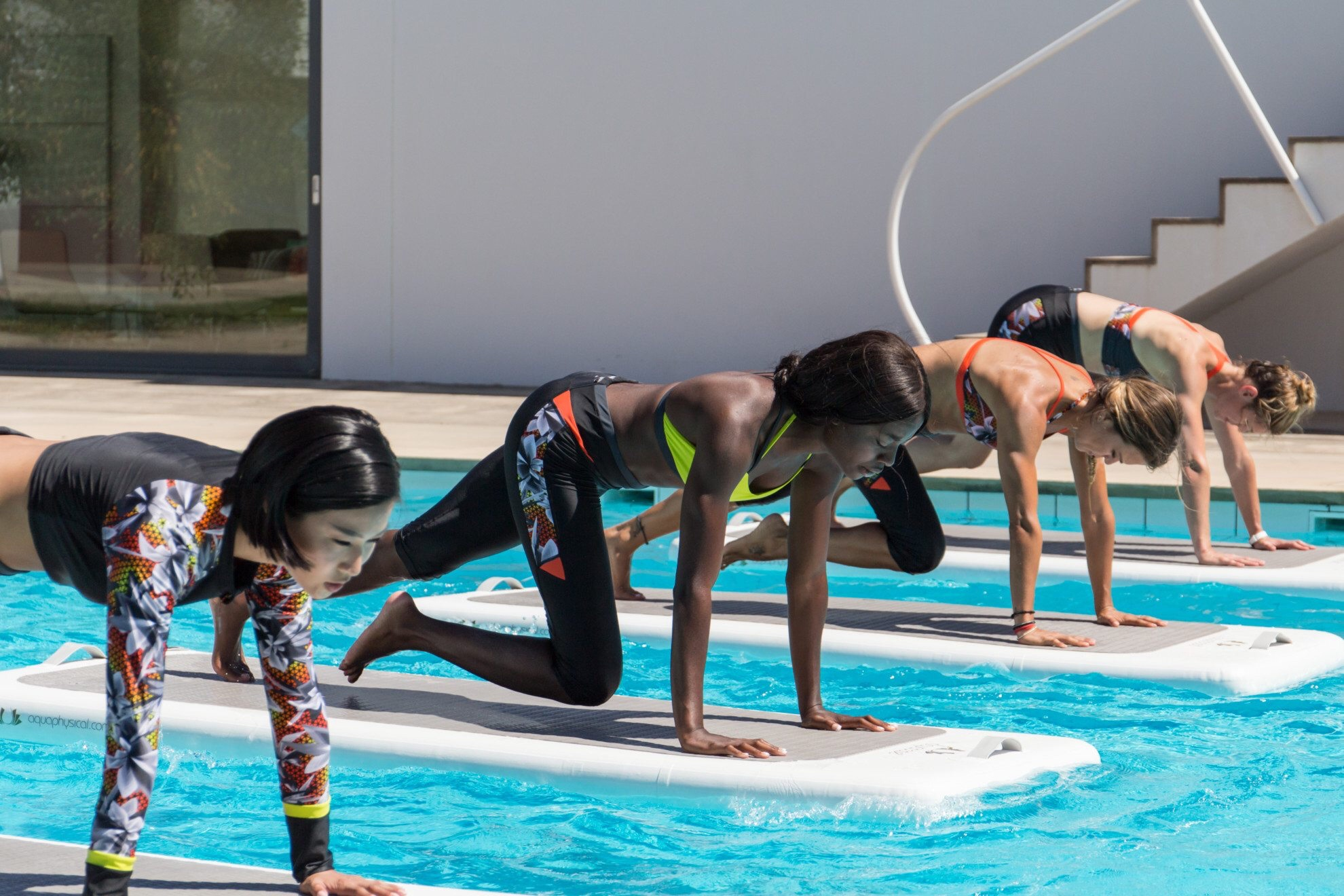 Water workouts - Float Fit HIIT - the goal getter uk
