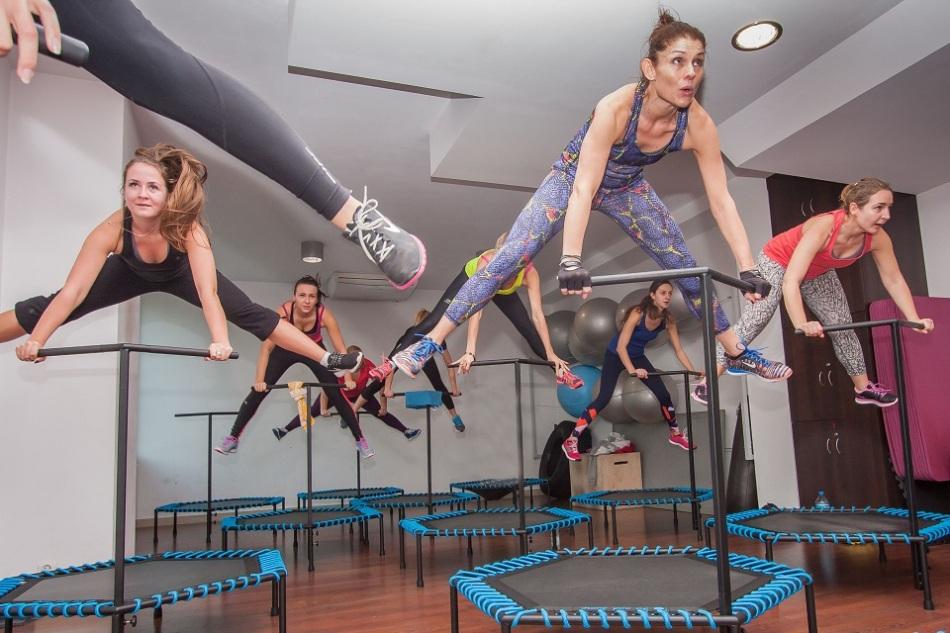 trampoline fitness goal getter